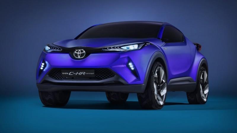 2014 Toyota C-HR Concept 12