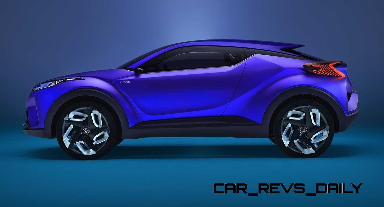 2015 toyota c hr concept updated as 4 door production model en route 2017 2018 best cars reviews. Black Bedroom Furniture Sets. Home Design Ideas