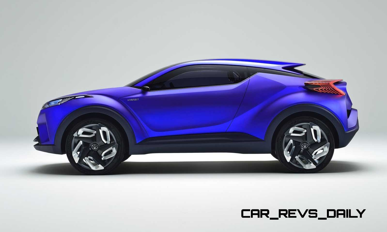 Update1 With 30 New Photos - 2014 Toyota C-HR Concept