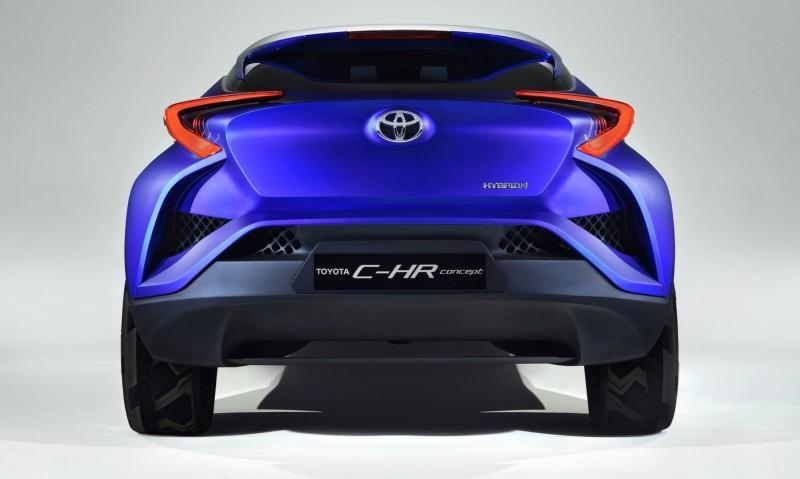 2014 Toyota C-HR Concept 23