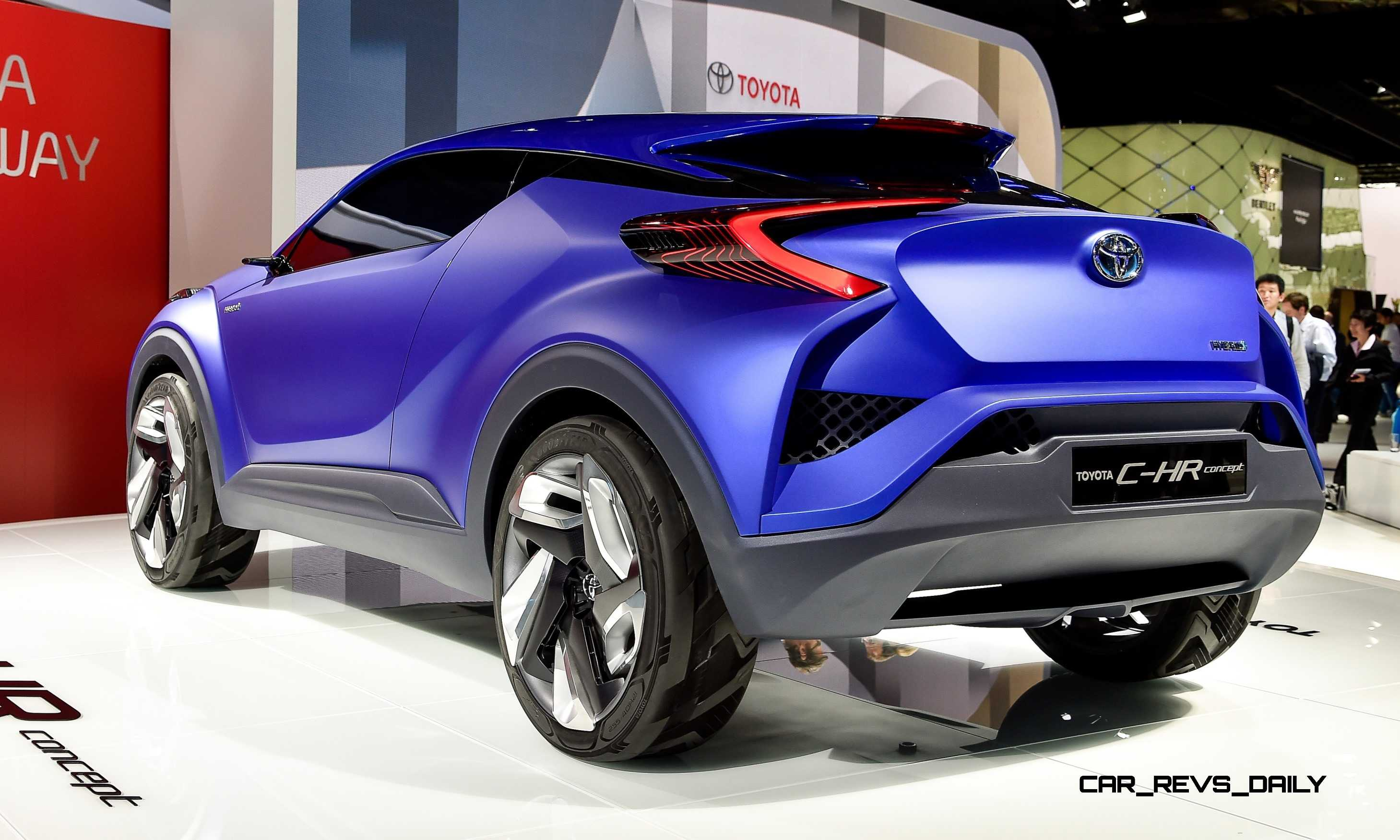 University Of Toyota >> Update1 With 30 New Photos - 2014 Toyota C-HR Concept