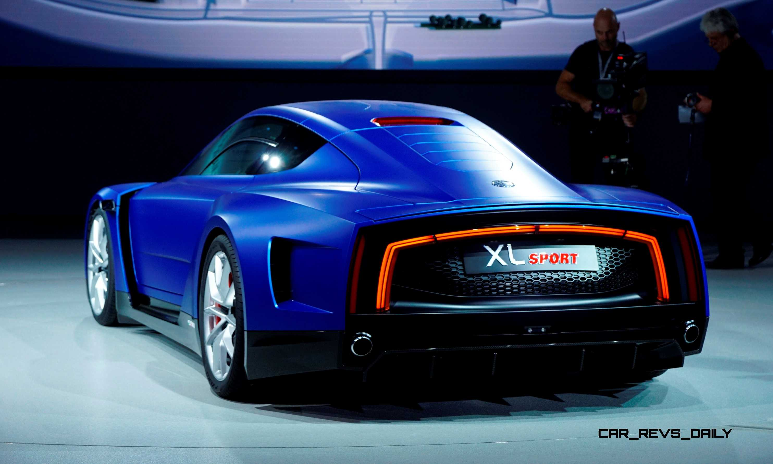 2014 Volkswagen XL Sport Concept Makes One Seriously Sexy BMW i8 Competitor