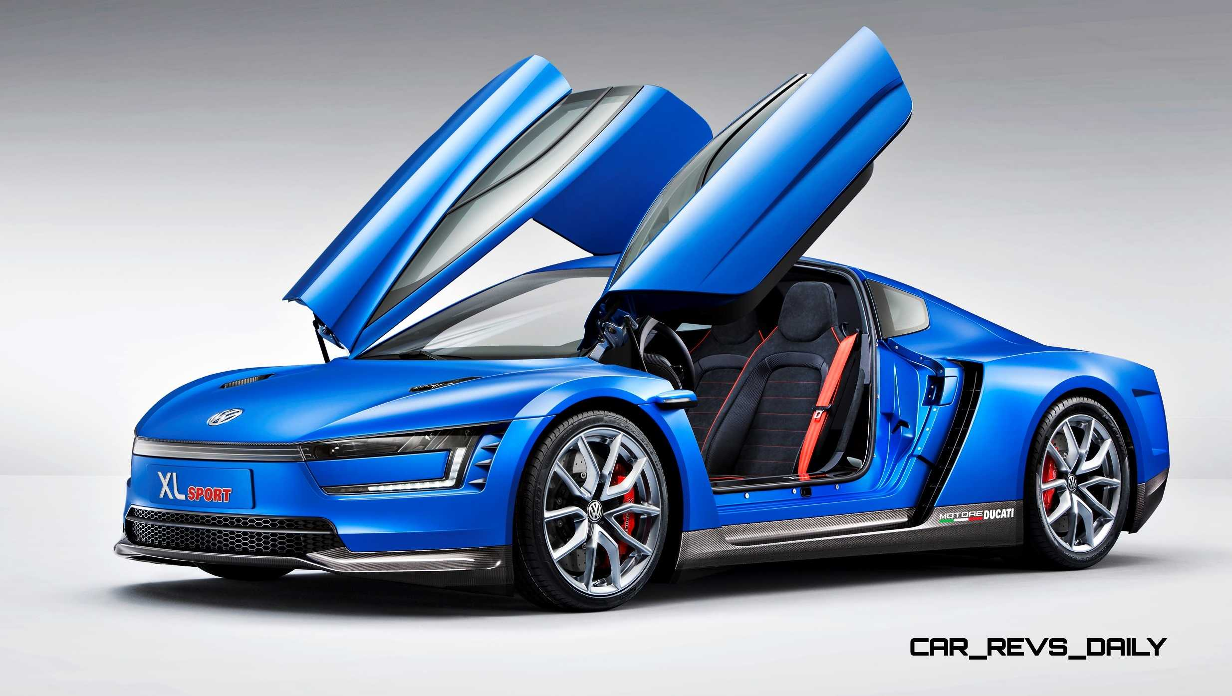 BMW I8 Mpg >> 2014 Volkswagen XL Sport Concept Makes One Seriously Sexy ...