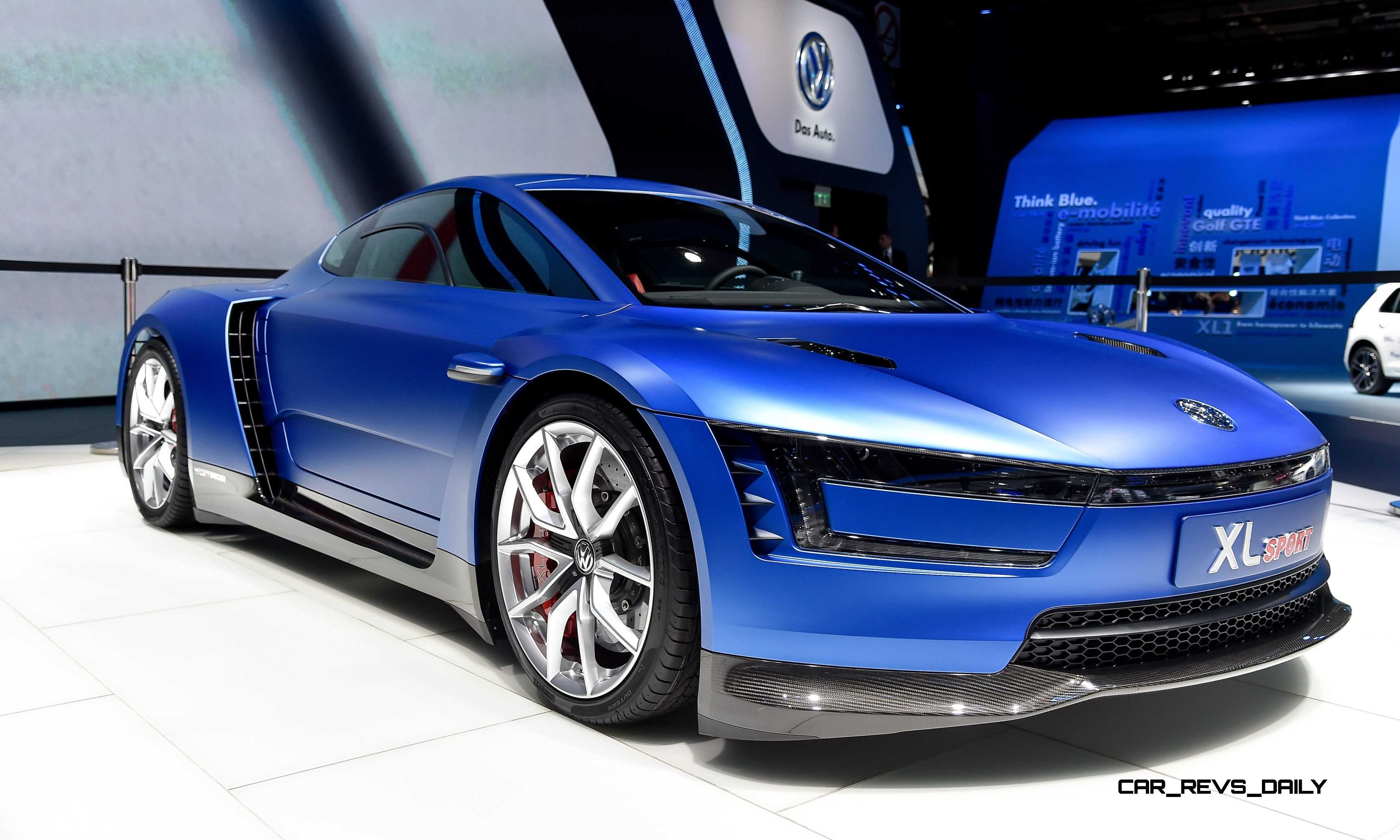 Sports Cars For Sale >> 2014 Volkswagen XL Sport Concept Makes One Seriously Sexy BMW i8 Competitor