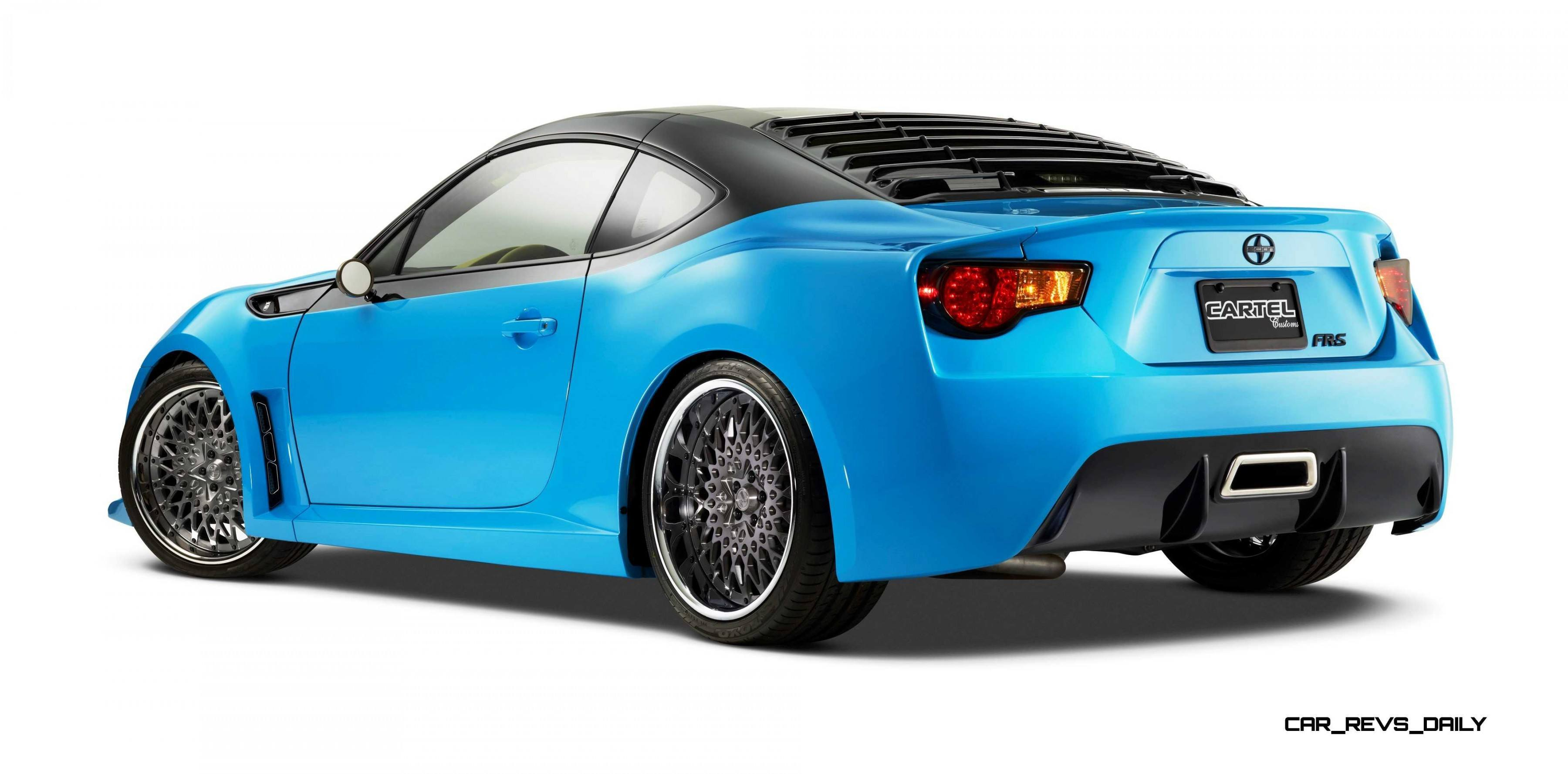 SCION Thrills With Concept FR S TARGA TURBO xB Camper