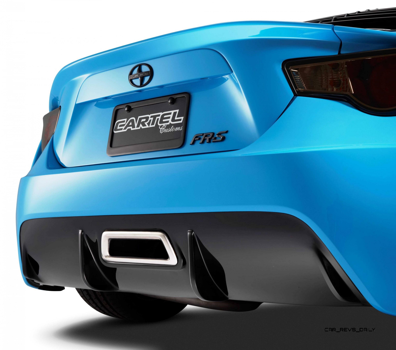 Scion Tc Exhaust >> SCION Thrills With Concept FR-S TARGA TURBO + xB Camper ...