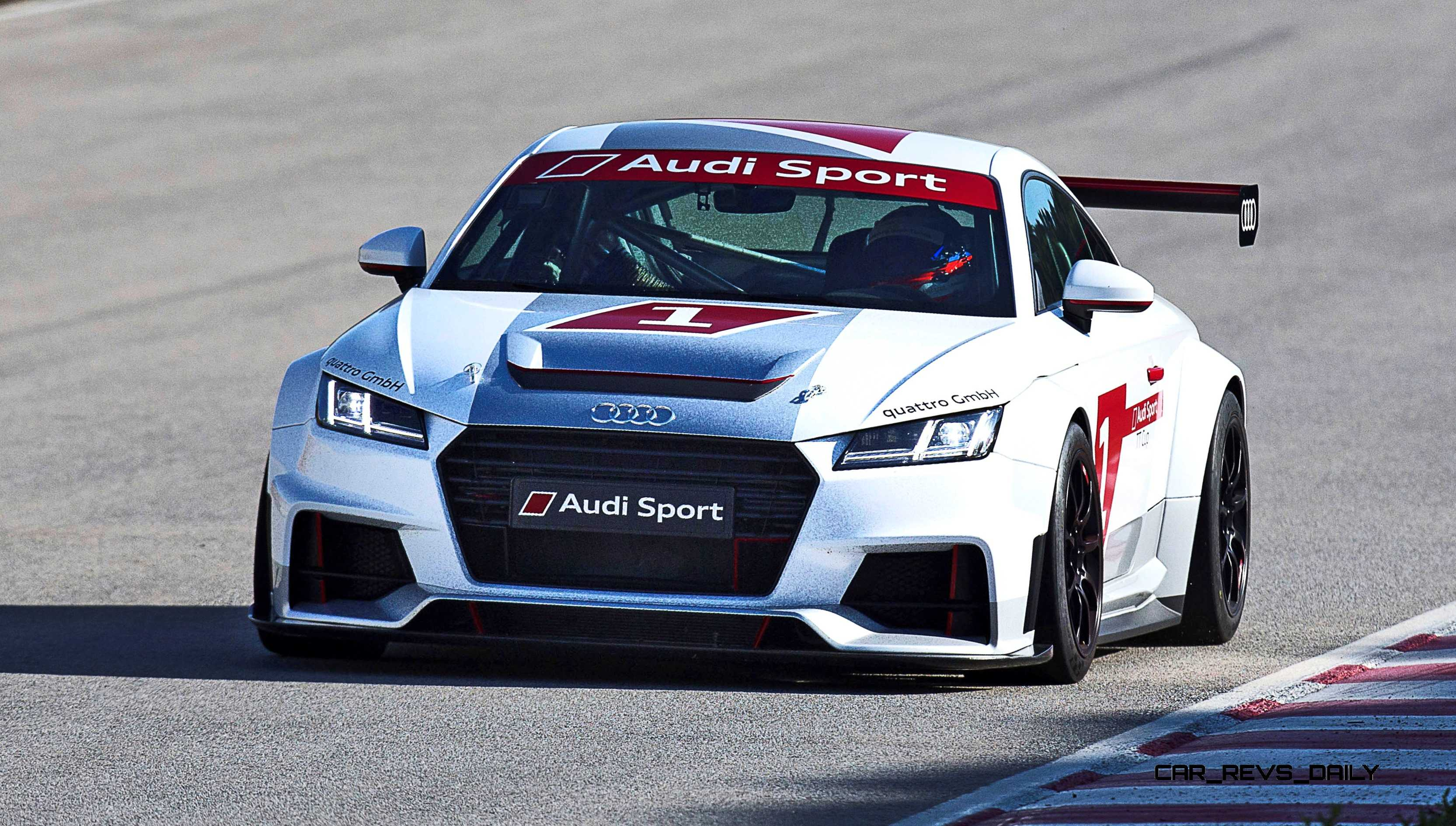 2015 Audi Sport Tt Cup Is Customer Racing Series Alongside