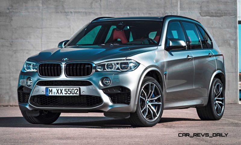 2015 BMW X5 M 8
