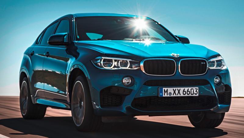 2015 BMW  X6 M 10
