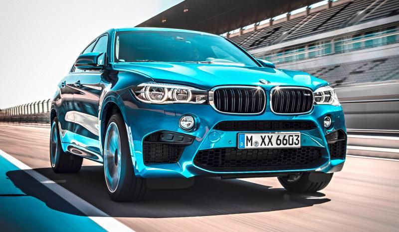 2015 BMW  X6 M 7
