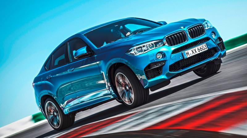 2015 BMW  X6 M 8