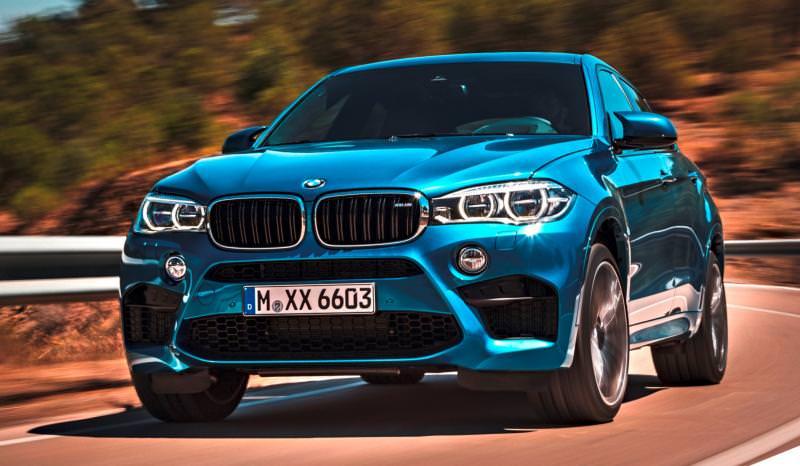 2015 BMW  X6 M 9