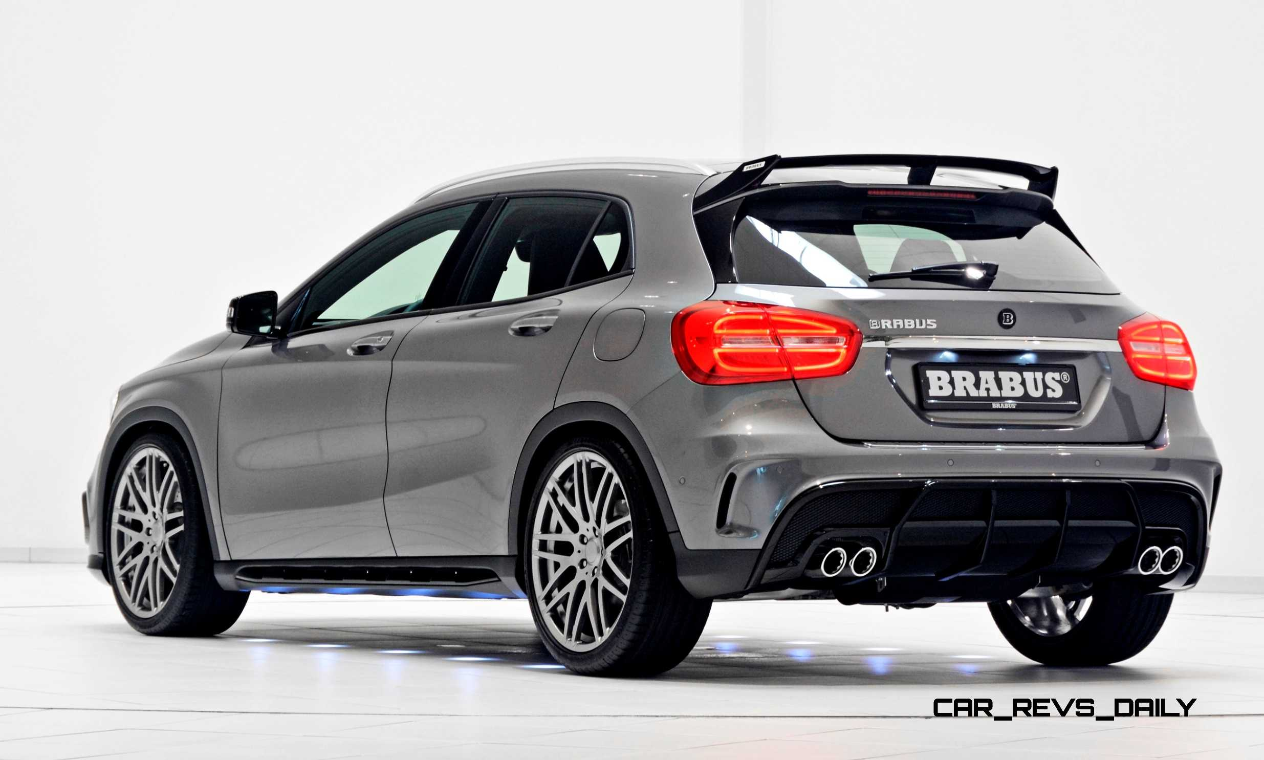 2015 brabus mercedes benz gla class 3. Black Bedroom Furniture Sets. Home Design Ideas