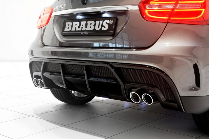 400hp 4 1s 2015 Brabus Mercedes Benz Gla Hunkers Low On 21s Aero Kit