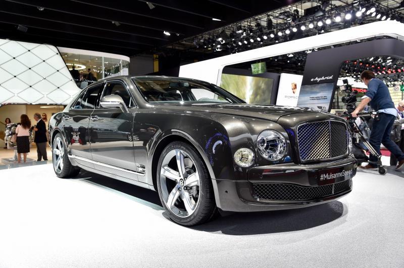 2015 Bentley Mulsanne Speed 1
