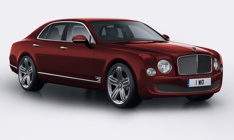 2015 Bentley Mulsanne Speed 14