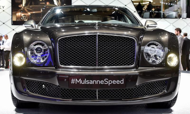 2015 Bentley Mulsanne Speed 2