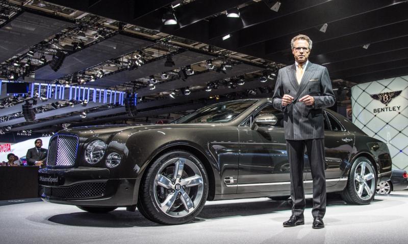 2015 Bentley Mulsanne Speed 30