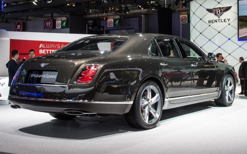 2015 Bentley Mulsanne Speed 32