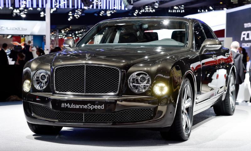 2015 Bentley Mulsanne Speed 5