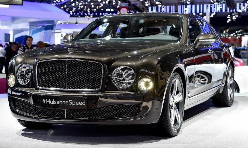2015 Bentley Mulsanne Speed 6