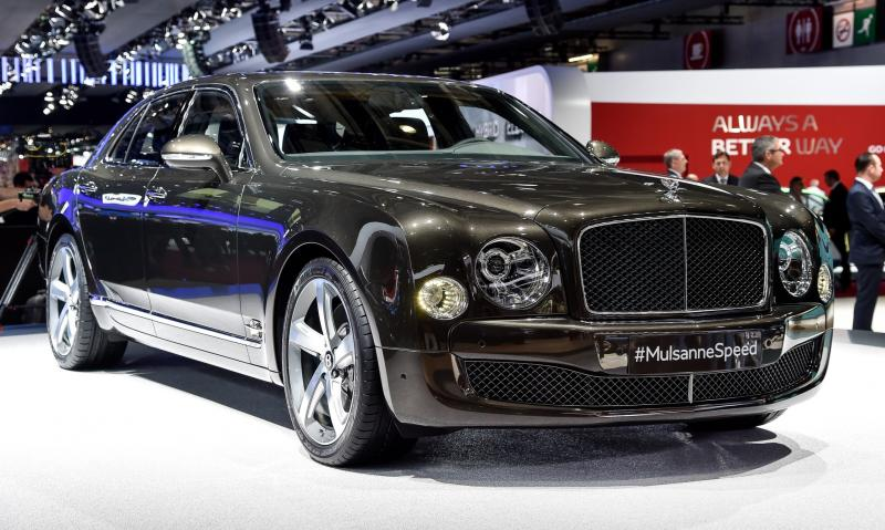 2015 Bentley Mulsanne Speed 7
