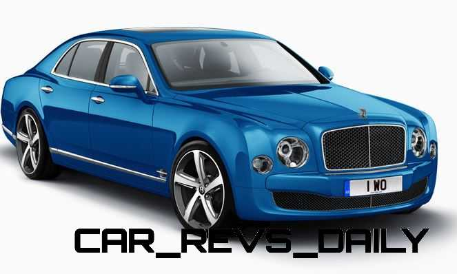 2015 Bentley Mulsanne Speed Colors 6