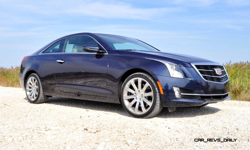 2015 Cadillac ATS Coupe 3.6 AWD 11