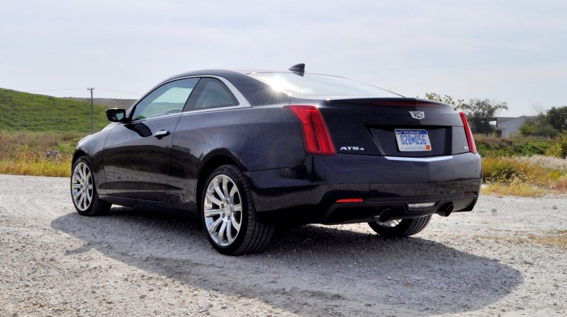 first drive review 2015 cadillac ats coupe 3 6 awd. Black Bedroom Furniture Sets. Home Design Ideas