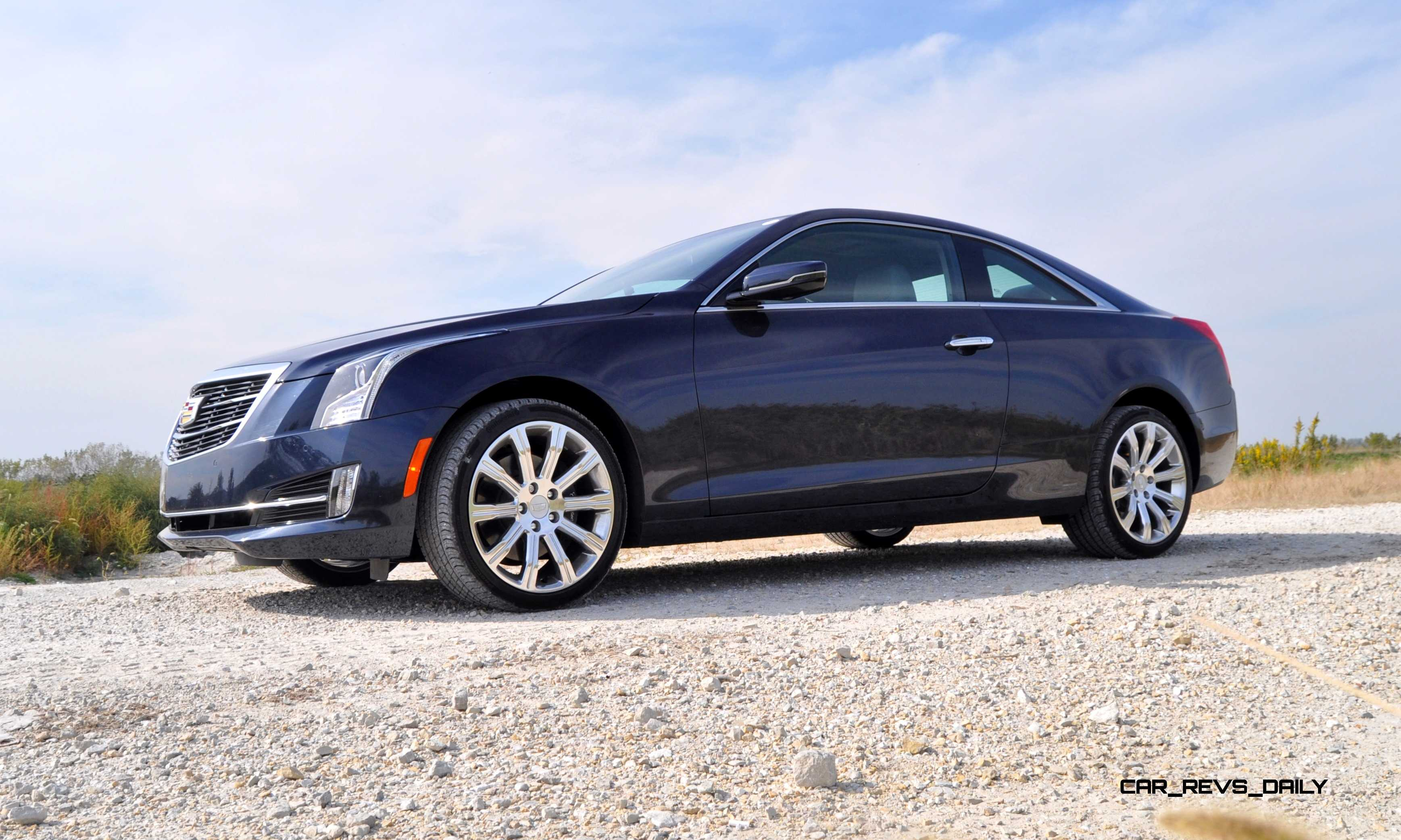 First Drive Review - 2015 Cadillac ATS Coupe 3.6 AWD Drives Well, But Lacks Sex Appeal at ...