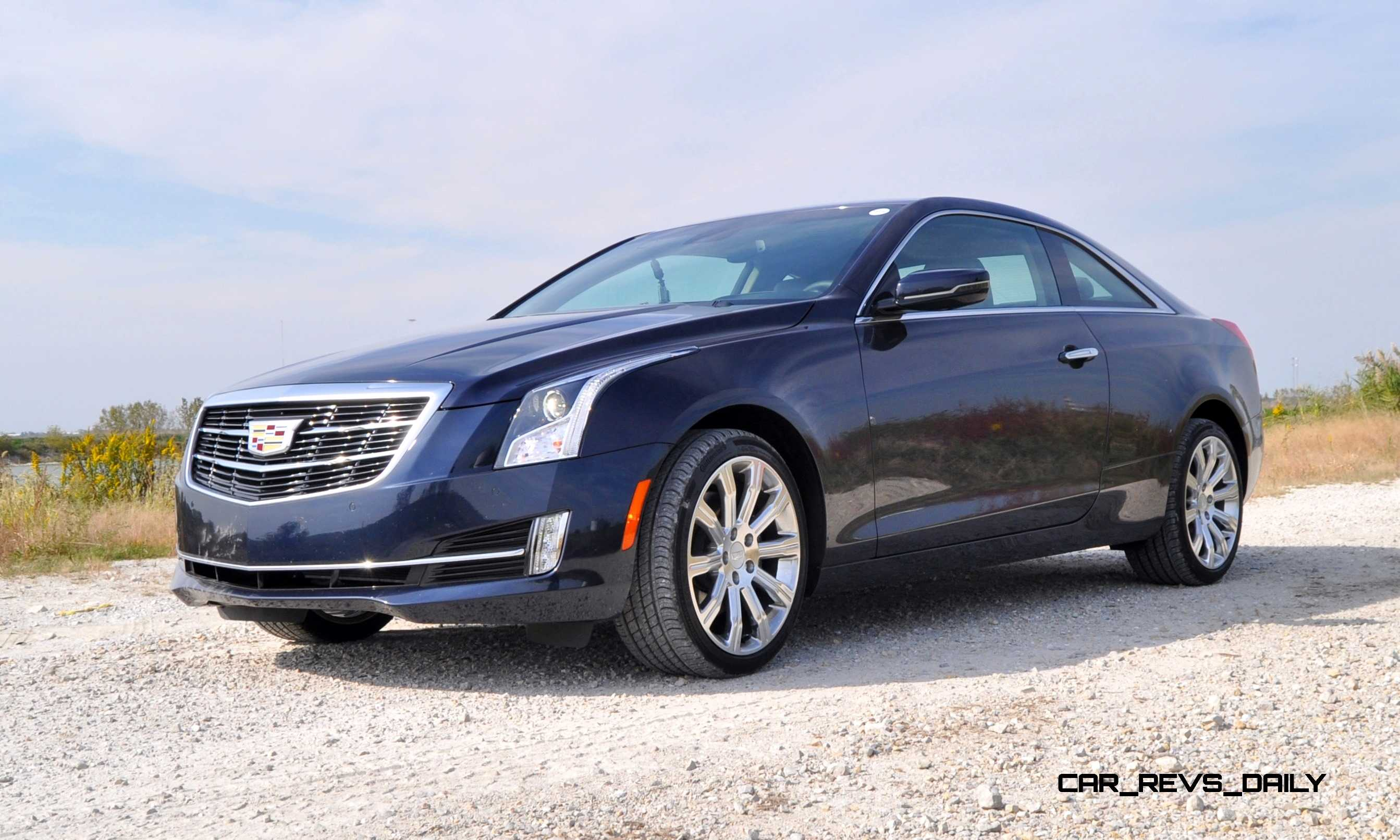 first drive review 2015 cadillac ats coupe 3 6 awd drives well but lacks sex appeal at. Black Bedroom Furniture Sets. Home Design Ideas