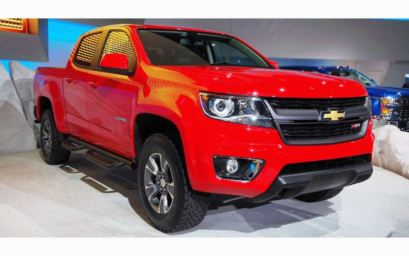 2015 Chevrolet Colorado Animated GIF