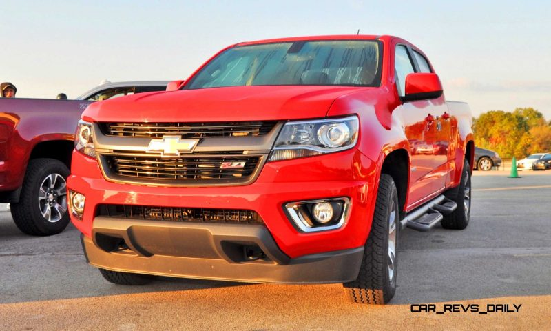 2015 Chevrolet Colorado Z71 1