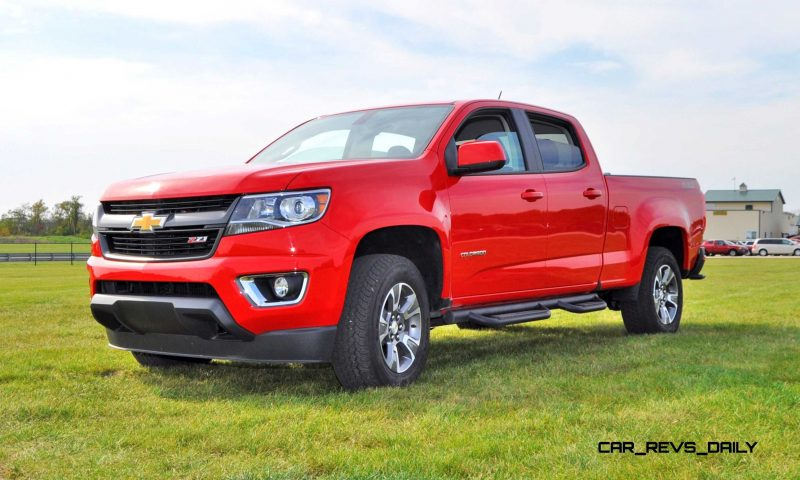 2015 Chevrolet Colorado Z71 21