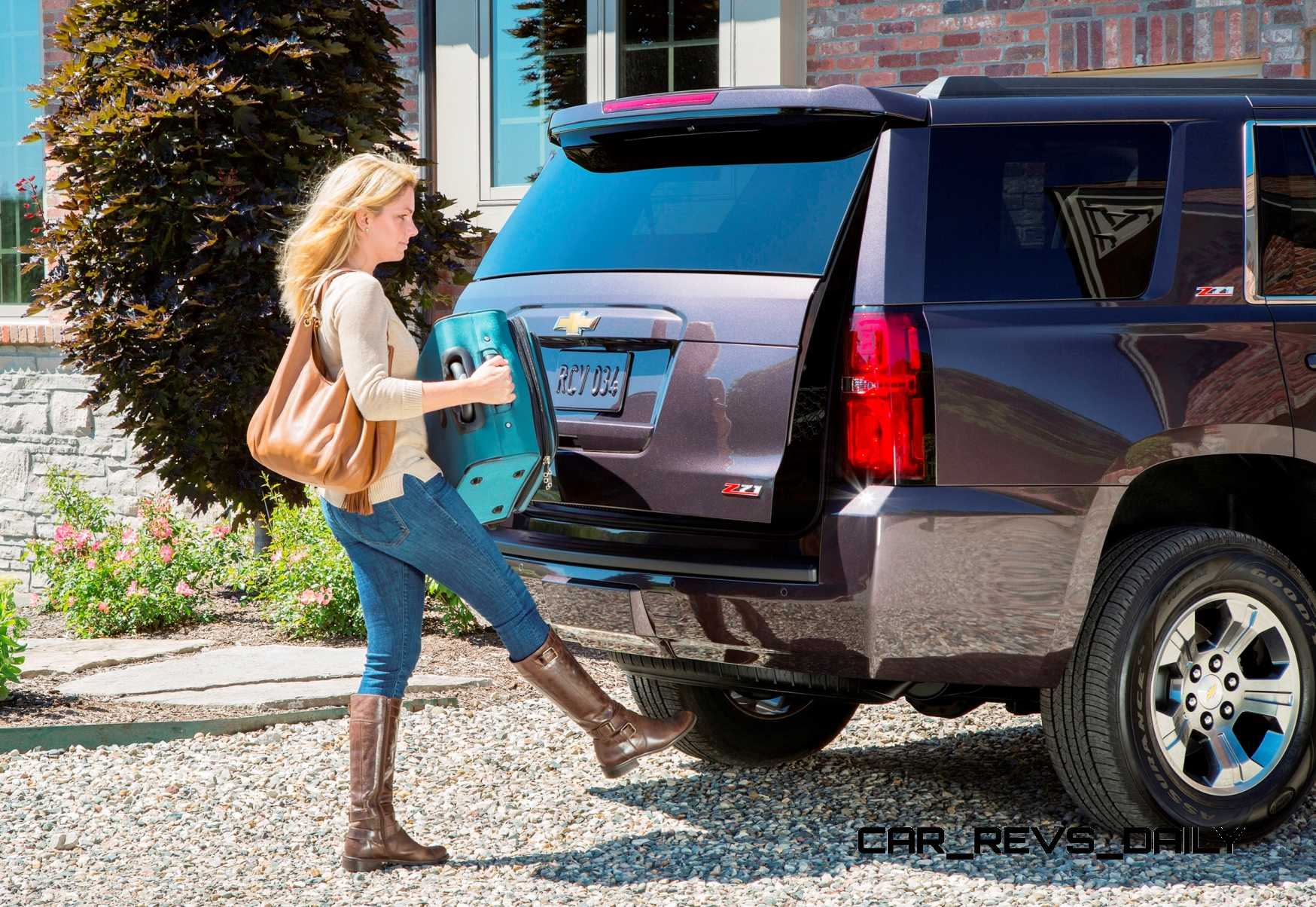 Suburban Vs Tahoe >> 2015 Chevrolet Tahoe and Suburban Add Z71 Off-Road Package - Arriving November Nationwide