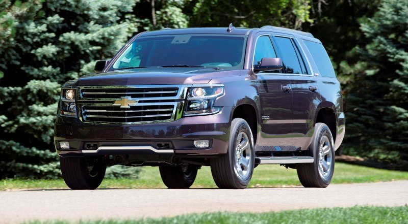 2015 Chevrolet Tahoe and Suburban Add Z71 Off-Road Package ...