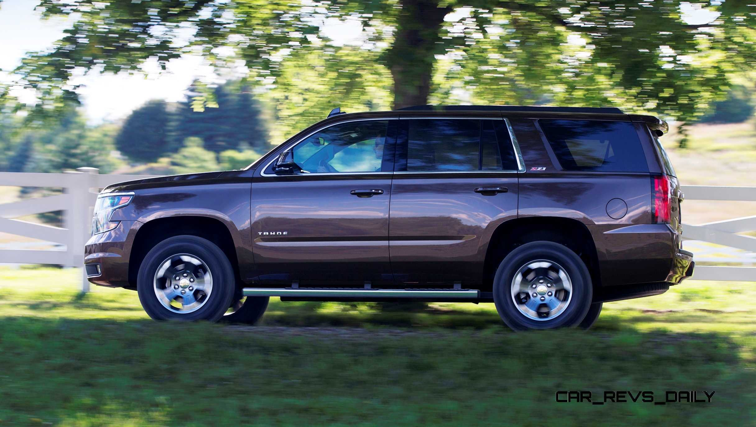 2015 Chevrolet Tahoe And Suburban Add Z71 Off Road Package