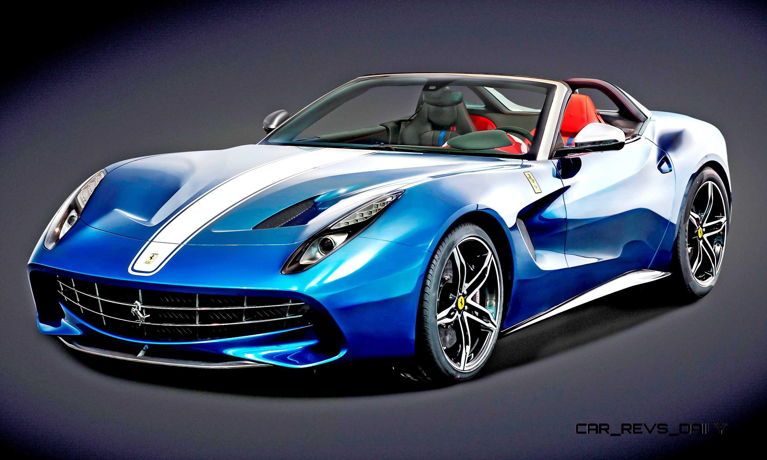 Ferrari Beverly Hills >> 3.1s 2015 Ferrari F60 America Is 10-Copy F12 Spyder Celebrating 60 Years of Ferrari in USA