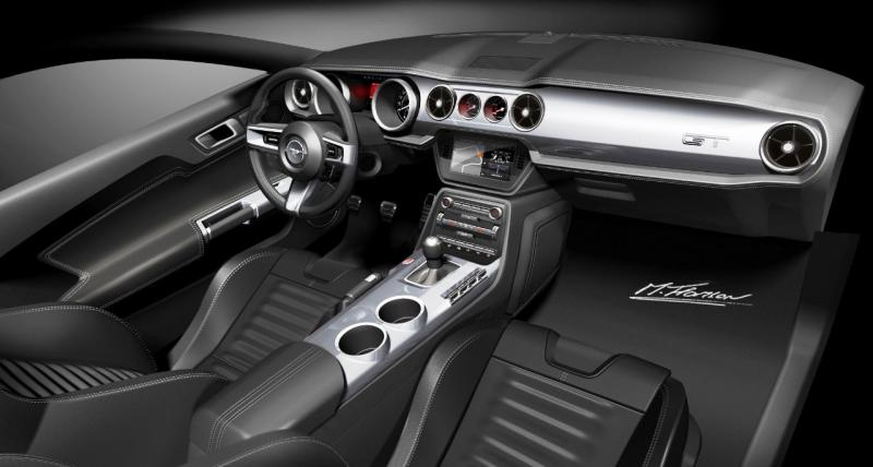 2015 Ford Mustang Sketches 12