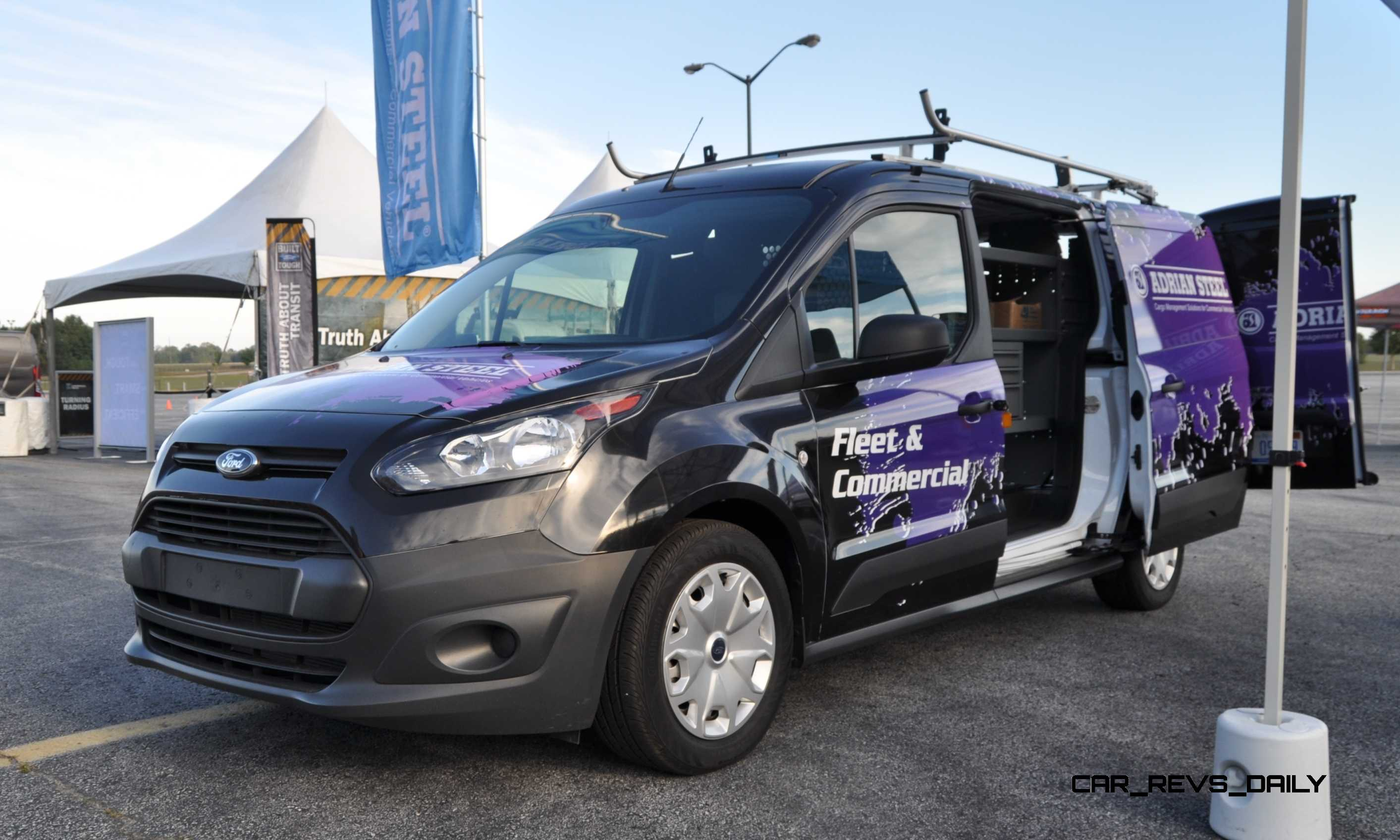 Ford Transit Wagon >> Best of Awards - 2015 Ford Transit Connect Cargo 1.6L EcoBoost - 4K Track Test Drive Video