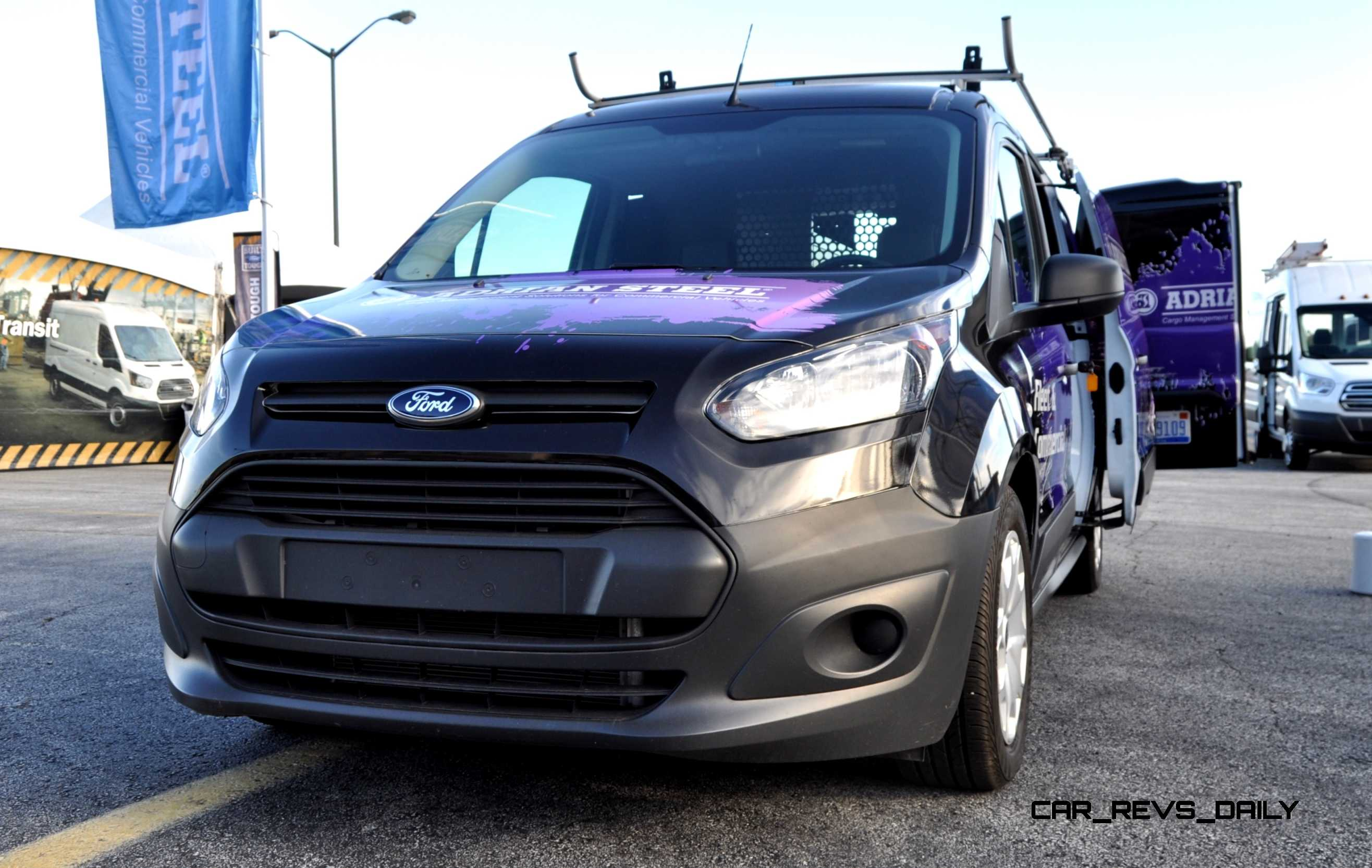 Drive A Tank >> Best of Awards - 2015 Ford Transit Connect Cargo 1.6L EcoBoost - 4K Track Test Drive Video