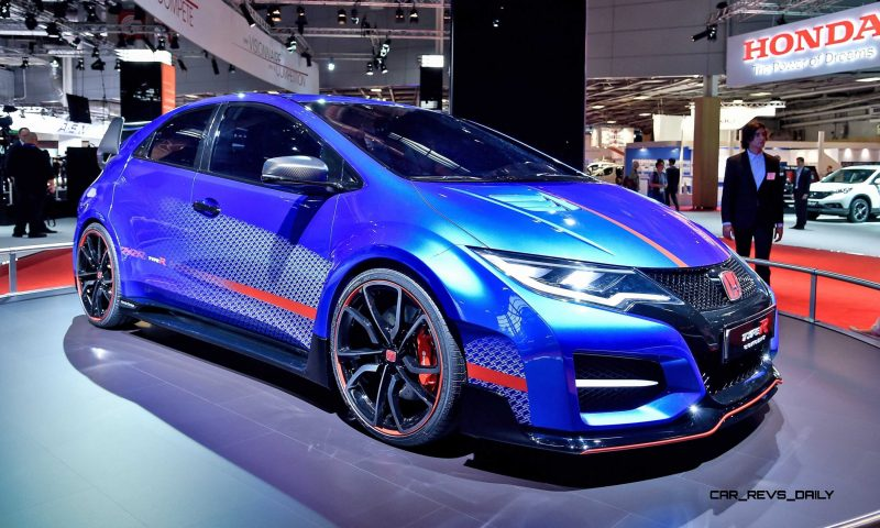 2015 Honda Civic Type R Concept Two Makes Paris Debut 1