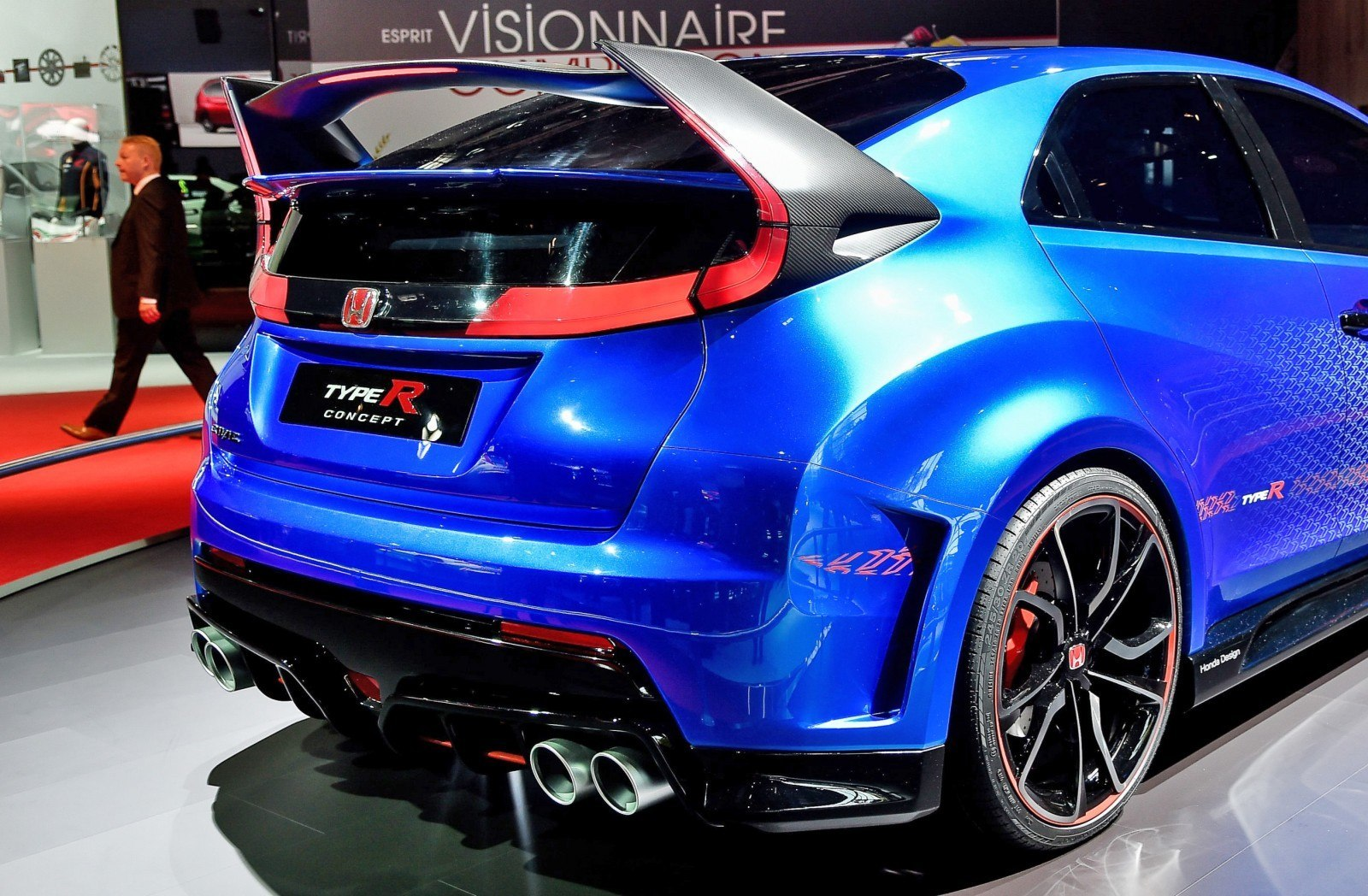 2015 Honda Civic Type R Concept Two Makes Paris Debut 10