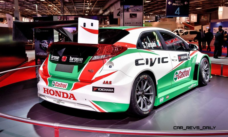 2015 Honda Civic Type R Concept Two Makes Paris Debut 11