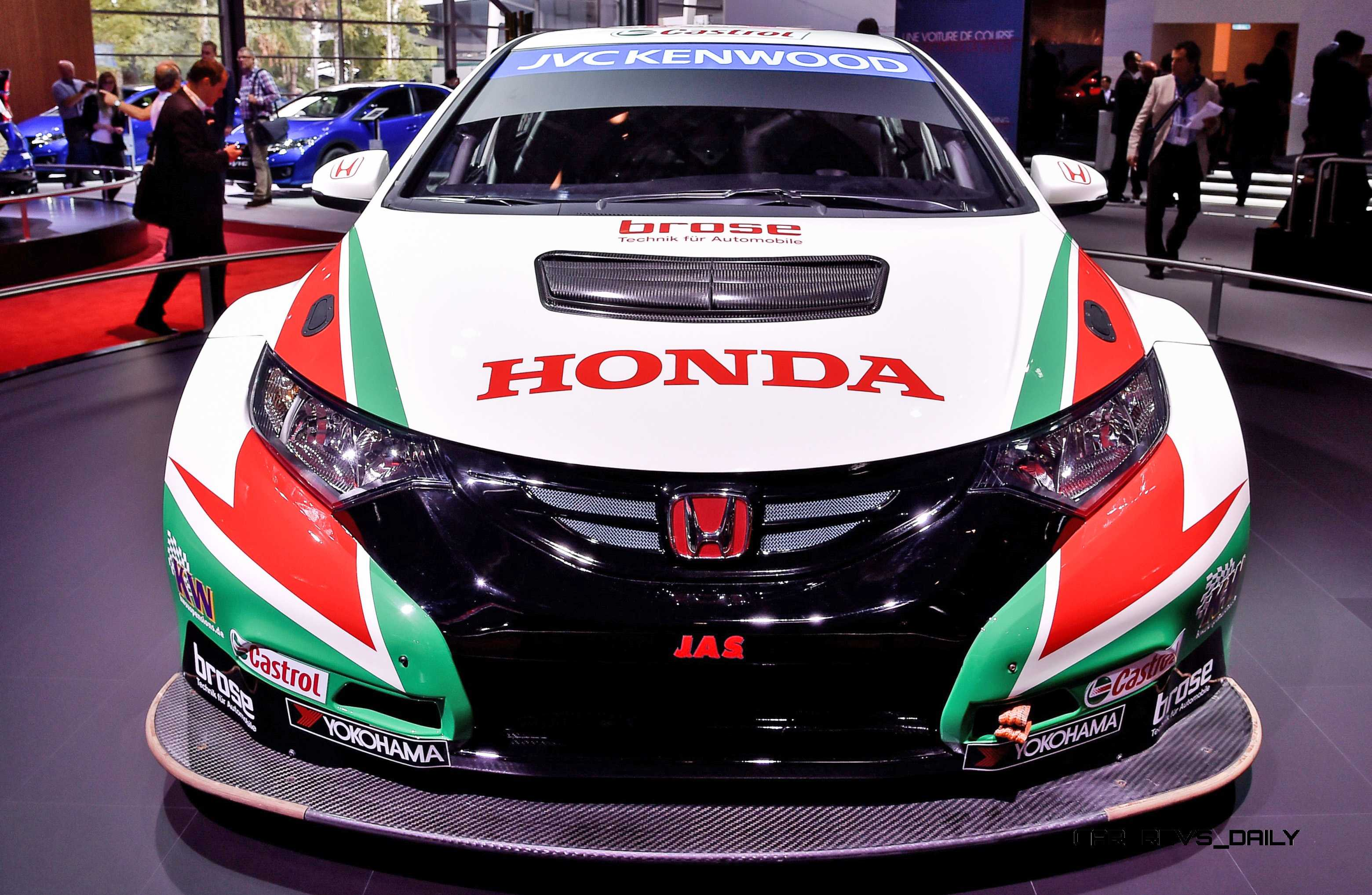 2015 Honda Civic Type R Concept Two Makes Paris Debut