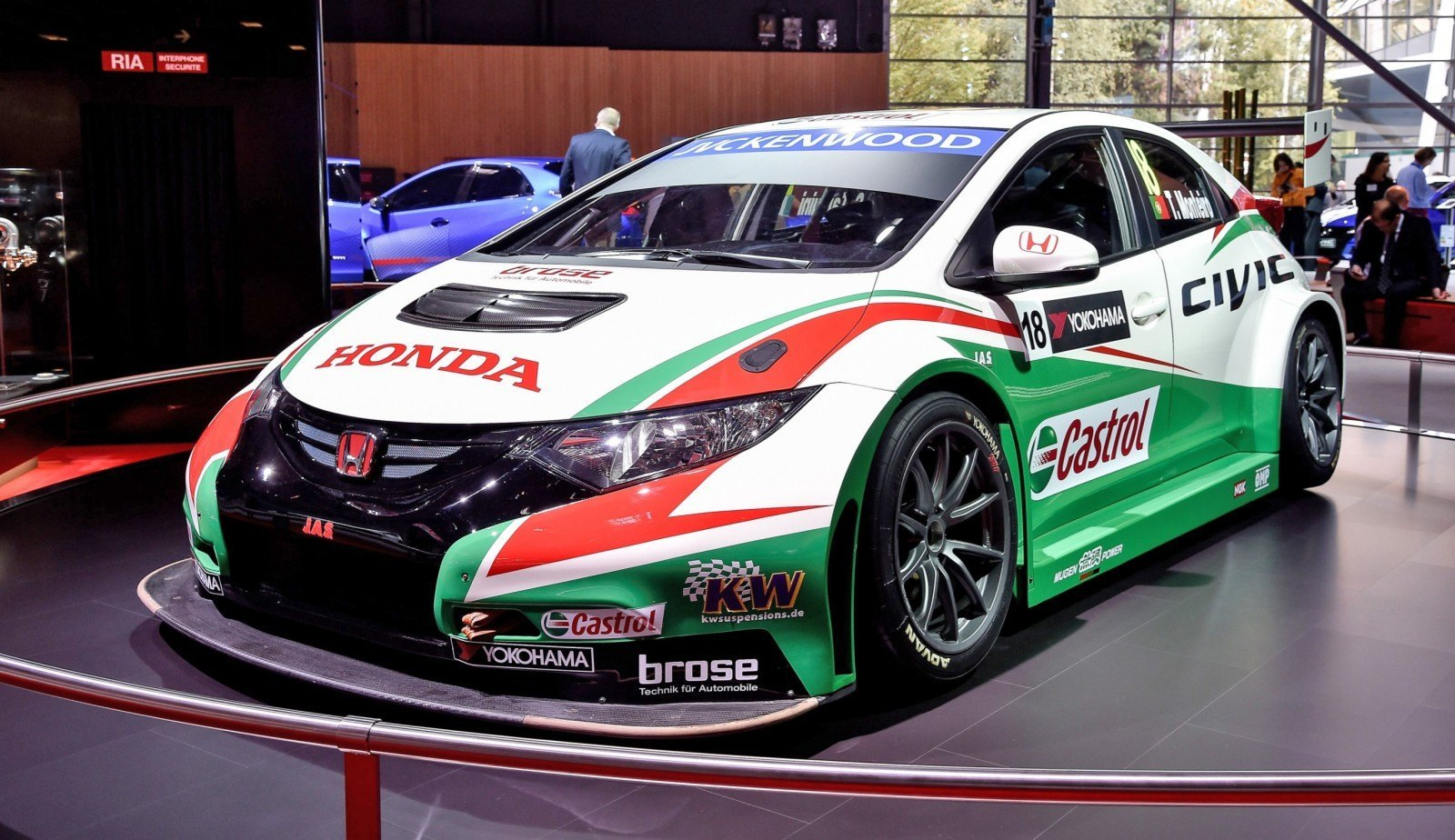 2015 Honda Civic Type R Concept Two Makes Paris Debut 16