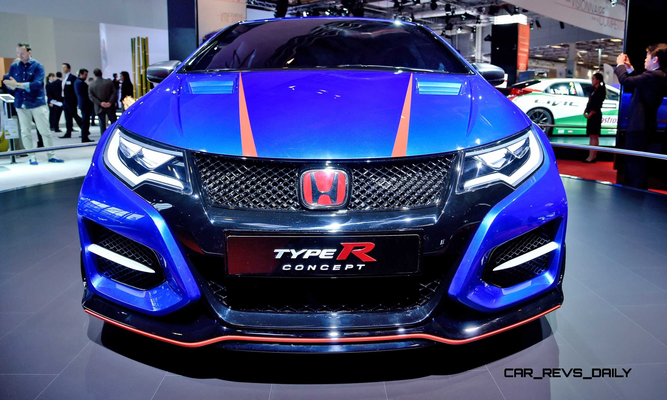 ... 2015 Honda Civic Type R Concept Two Makes Paris Debut 3 ...