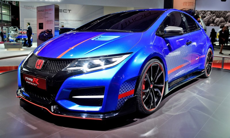 2015 Honda Civic Type R Concept Two Makes Paris Debut 5