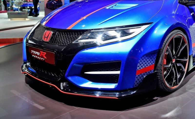 2015 Honda Civic Type R Concept Two Makes Paris Debut 6