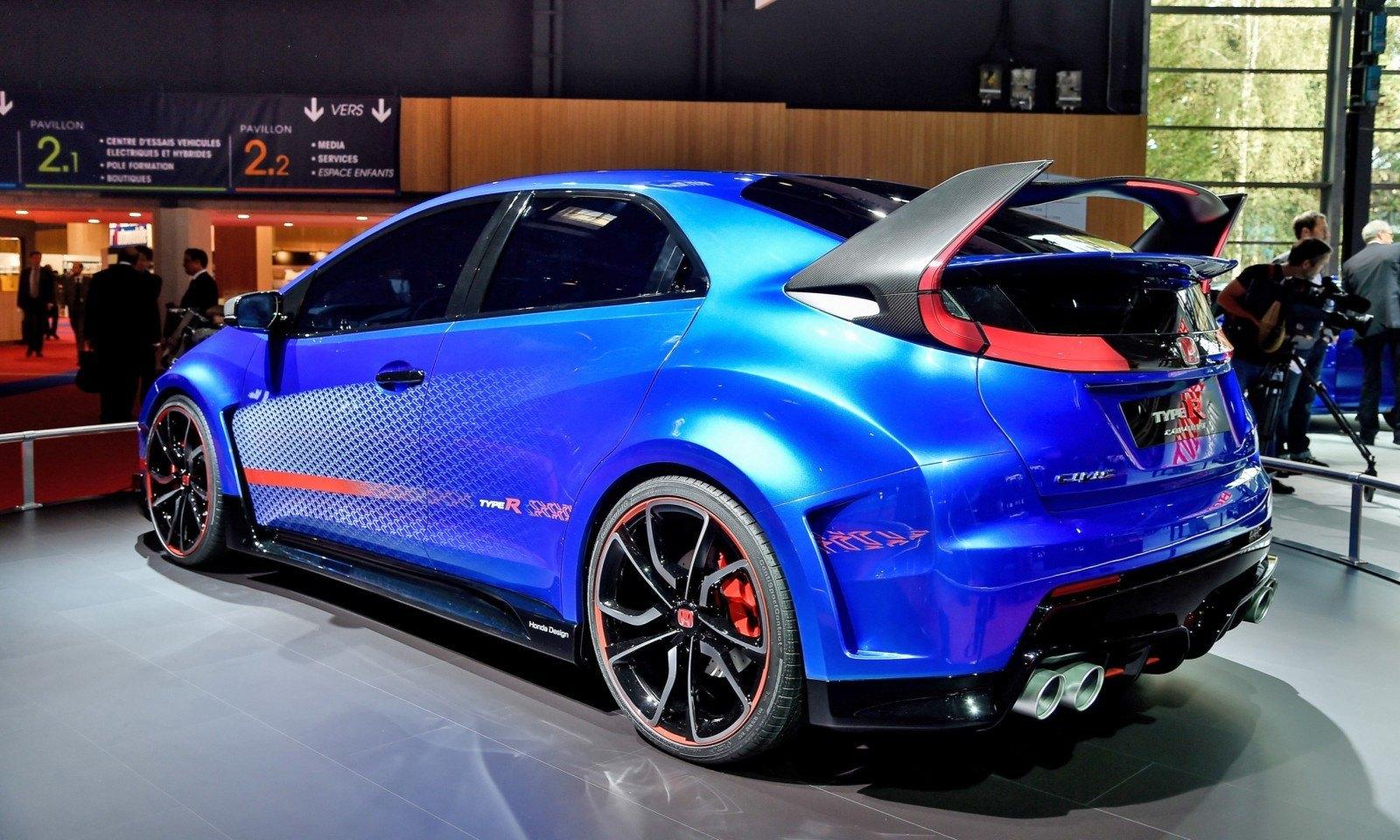 2015 Honda Civic Type R Concept Two Makes Paris Debut 7